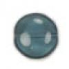 Glass Bead Flat 14/6mm Montana Round Penny Beads - Strung